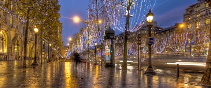 Christmas Champs-Elysse December