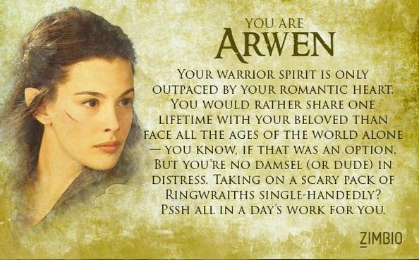 Arwen Quiz