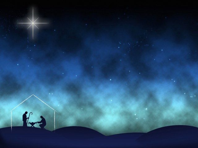 Nativity Worship Background Still 2