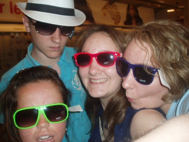 Katy, Allison, Steven and daughter #5 Mercy